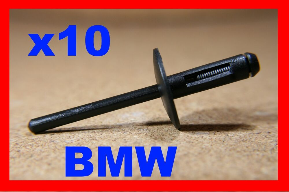 10 bmw voiture fixation rivet plastique clips bordure passage de roue moulage ebay. Black Bedroom Furniture Sets. Home Design Ideas