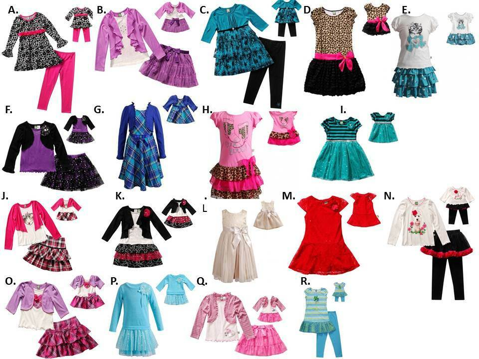 Dollie Me 2 16 And 18 Quot Doll Matching Pajama Or Dress Ft