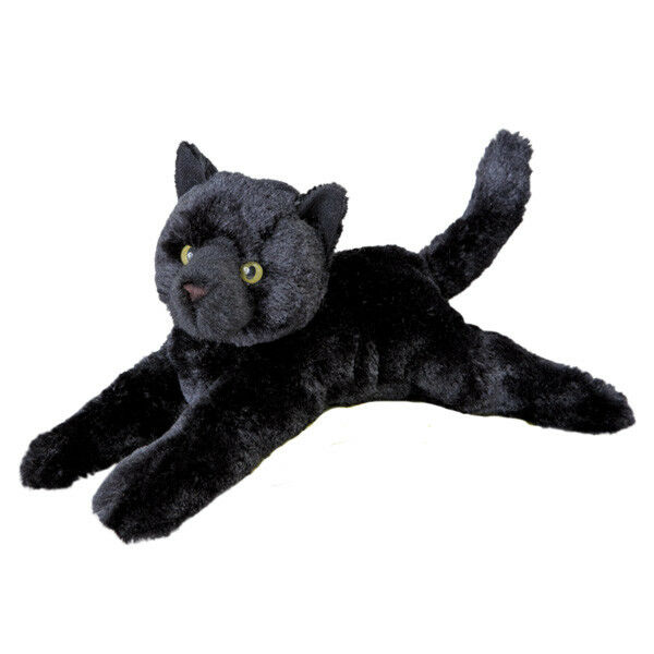 Black cat toys others, appears