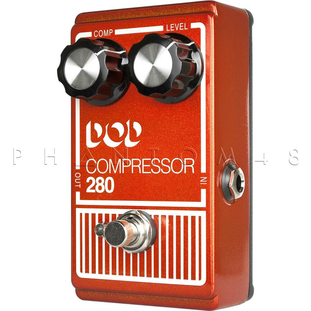 digitech dod 280 compressor sustainer guitar effects pedal brand new 691991202858 ebay. Black Bedroom Furniture Sets. Home Design Ideas