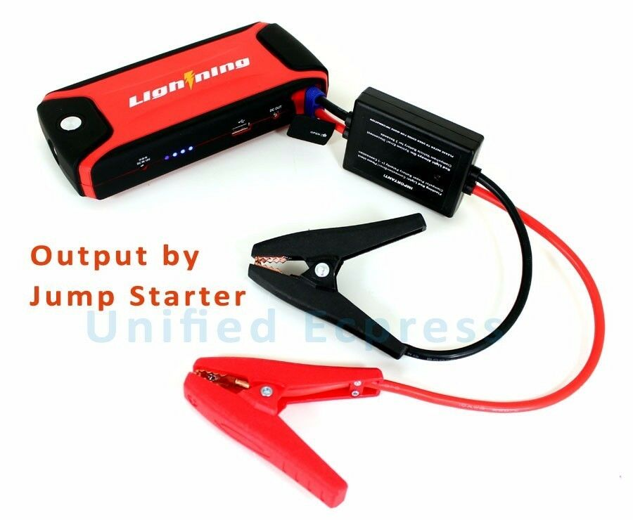 portable jump starter how to use