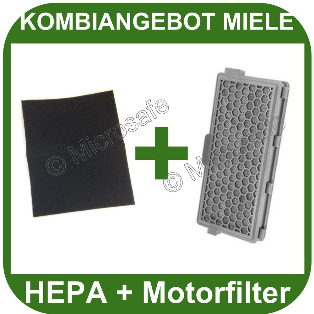 hepa filter motorschutzfilter f r miele cat dog 5000 s8 motorfilter s 8 ebay. Black Bedroom Furniture Sets. Home Design Ideas