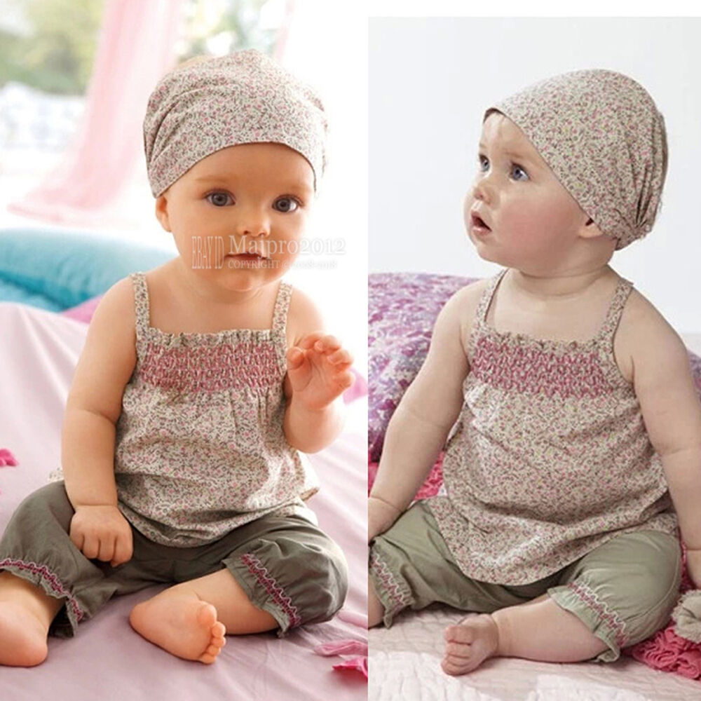 baby Clothes 0 3 3 6 6 9 18 24 Months Floral Dot Baby Girl