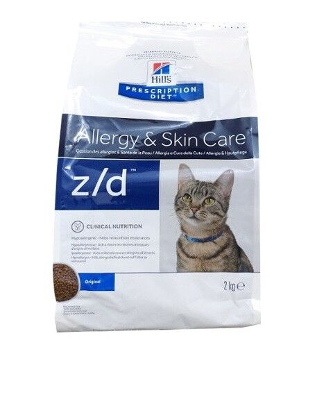 2kg hills prescription z d allergy skin care feline. Black Bedroom Furniture Sets. Home Design Ideas