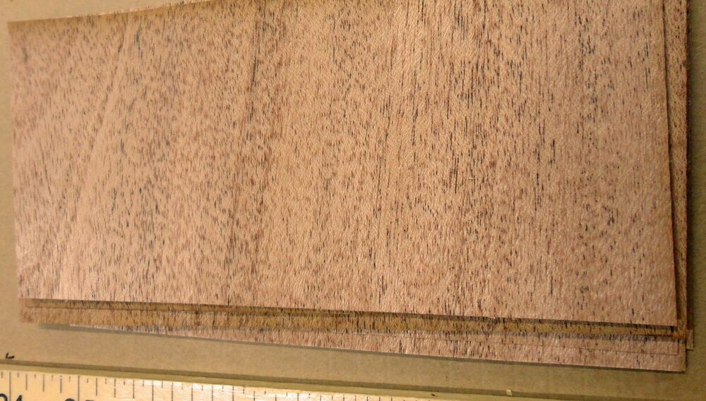 African mahogany wood veneer quot with no backing raw