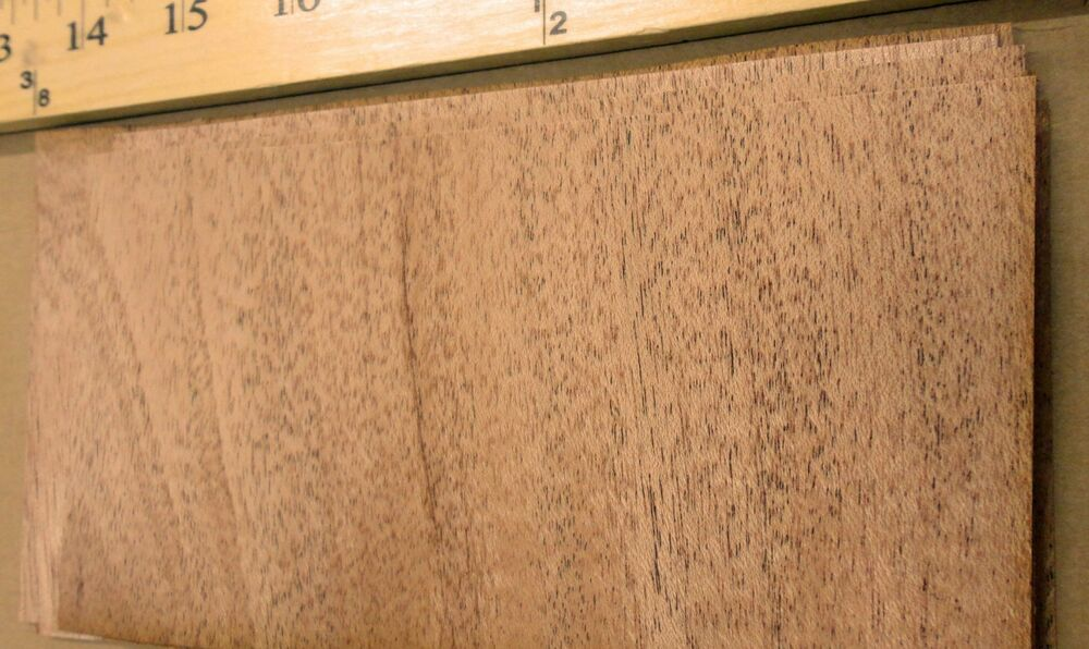 African mahogany wood veneer quot with no backing