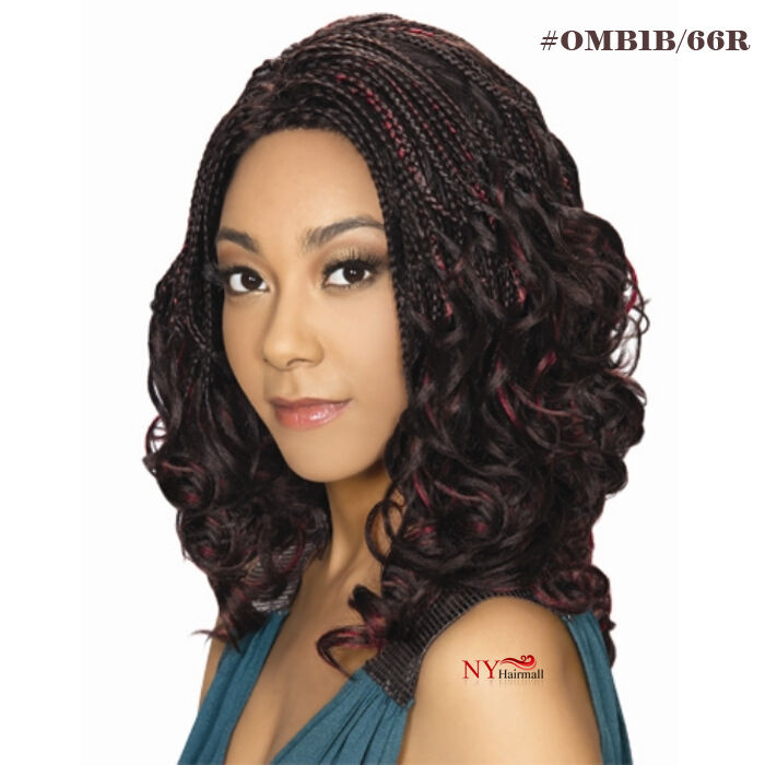 Zury Hollywood Sis Afro Braid Lace Front Wig Swirl Ebay