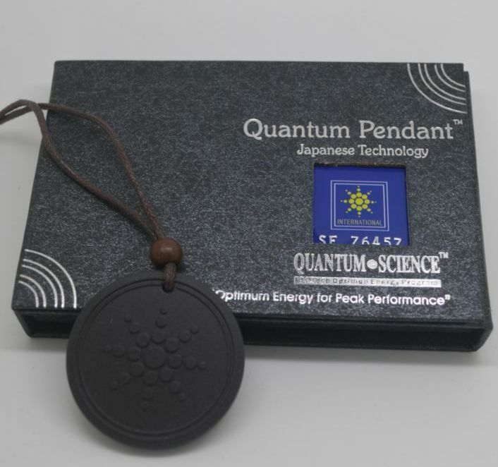 quantum scalar health energy necklace with pendant