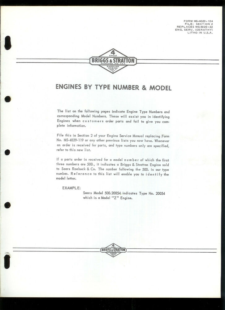 Car Engines Types Manual Guide
