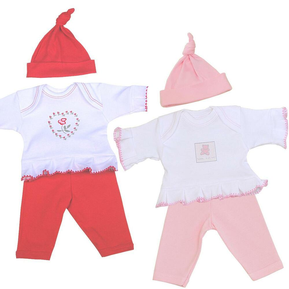 BabyPrem Girls Preemie Tiny Baby Clothes 3 Piece Set ...