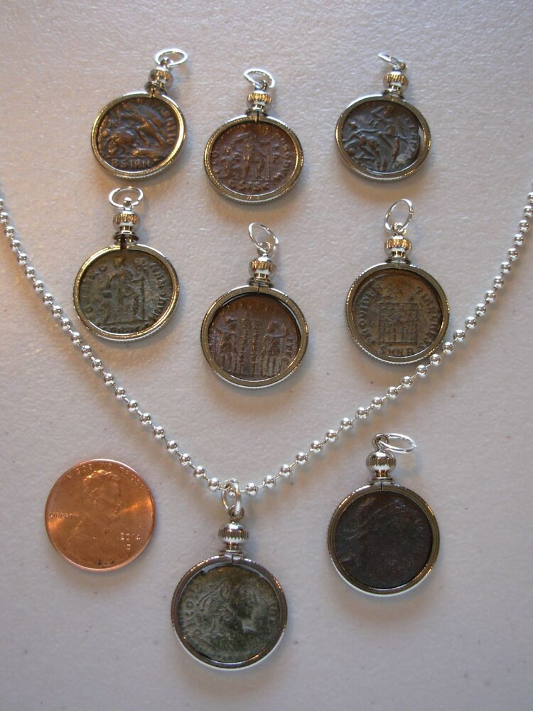ancient coin pendant necklace jewelry using premium