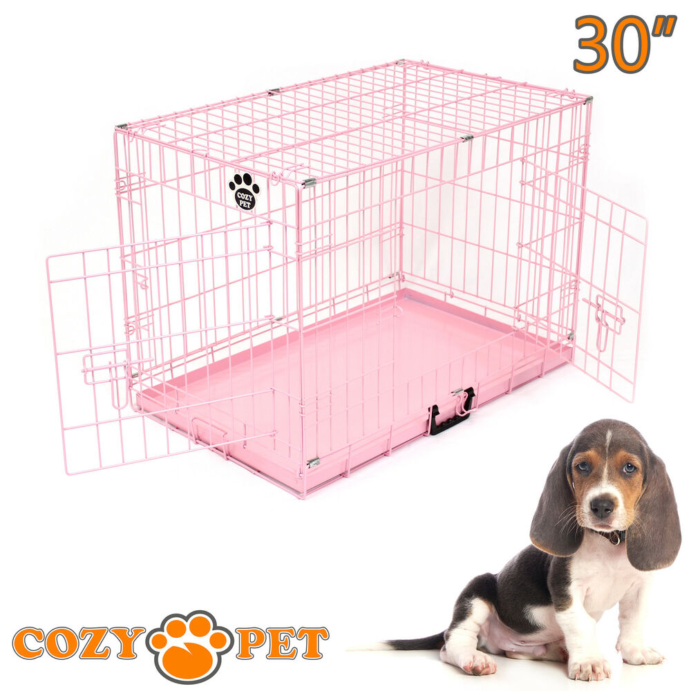 Dog Cage Puppy Crate Pink Show Showing Training Cozy Pet ... - photo#33