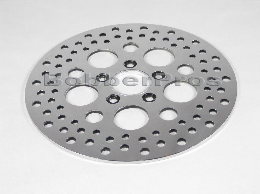 Stainless Brake Rotors : Harley brake disc rotor front quot polished vented
