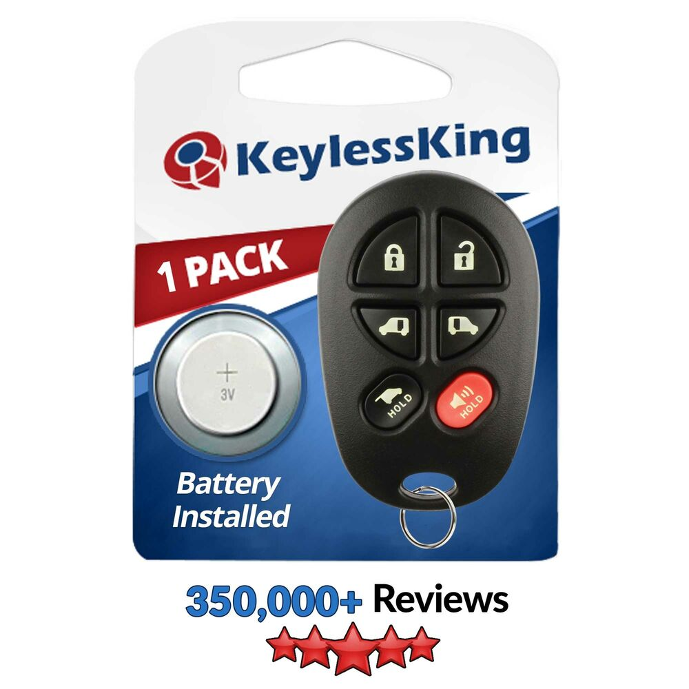 new keyless entry remote replacement key fob transmitter clicker for gq43vt20t ebay. Black Bedroom Furniture Sets. Home Design Ideas