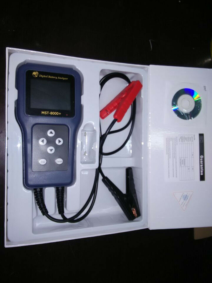 Digital Battery Analyzer : Mst digital battery analyzer automotive electrical