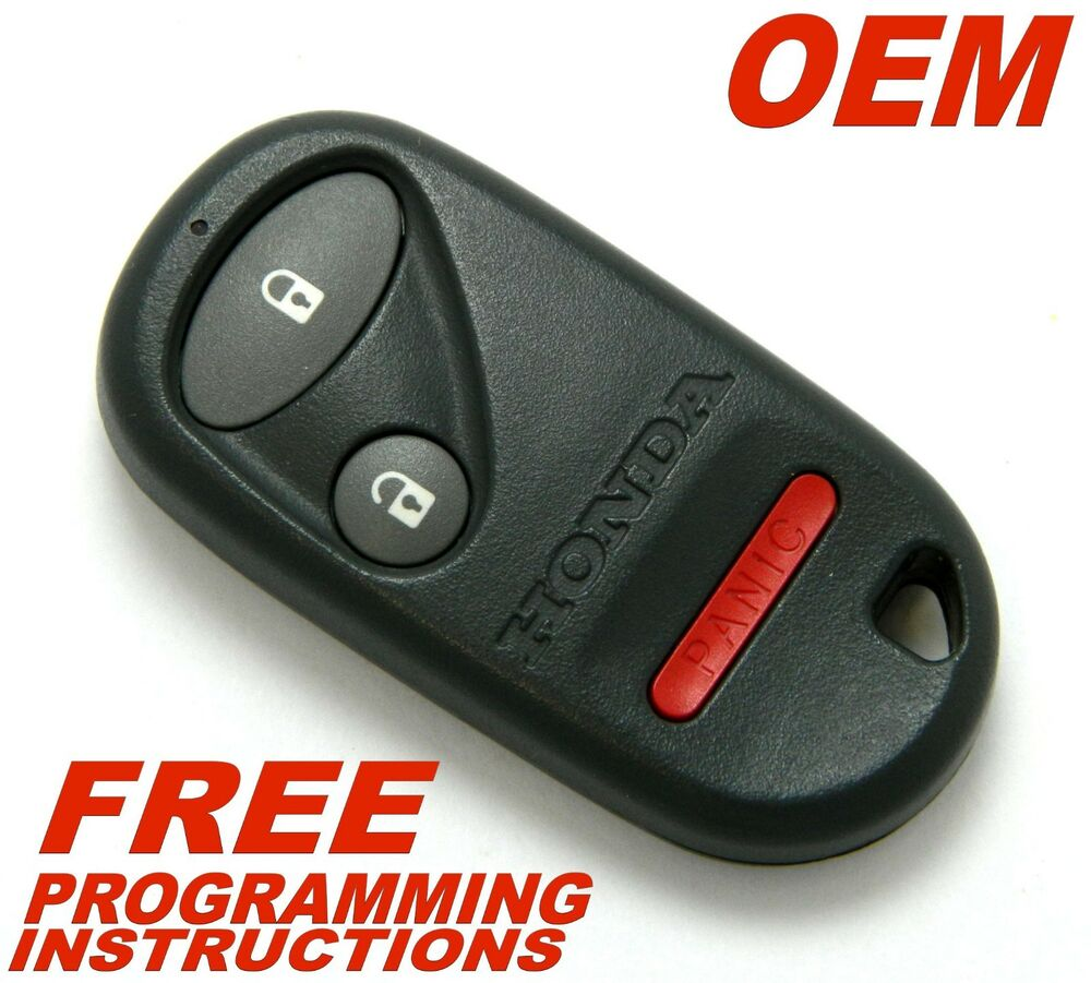 Oem 1999 2000 honda civic keyless remote entry fob for Program honda civic key