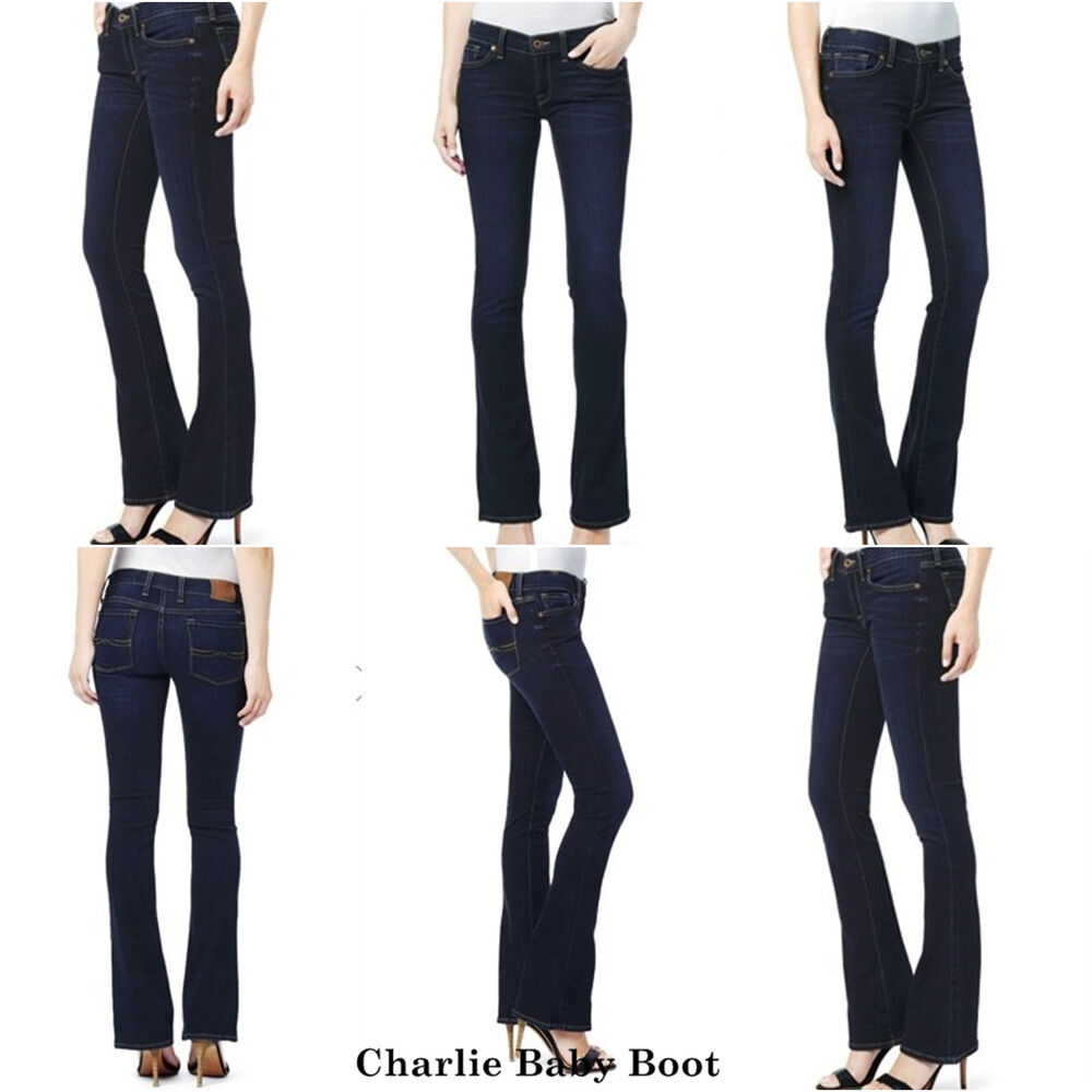 Lucky Brand Women S Denim Jeans Charlie Baby Boot Low Rise