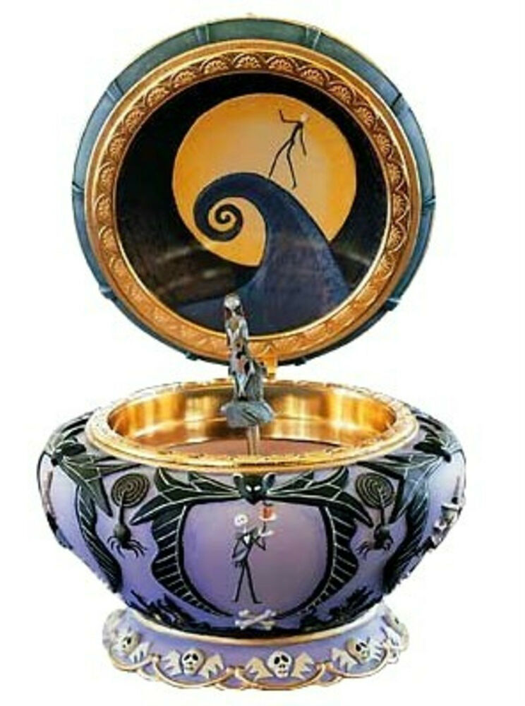 nightmare before christmas sally musical jewelry box ebay