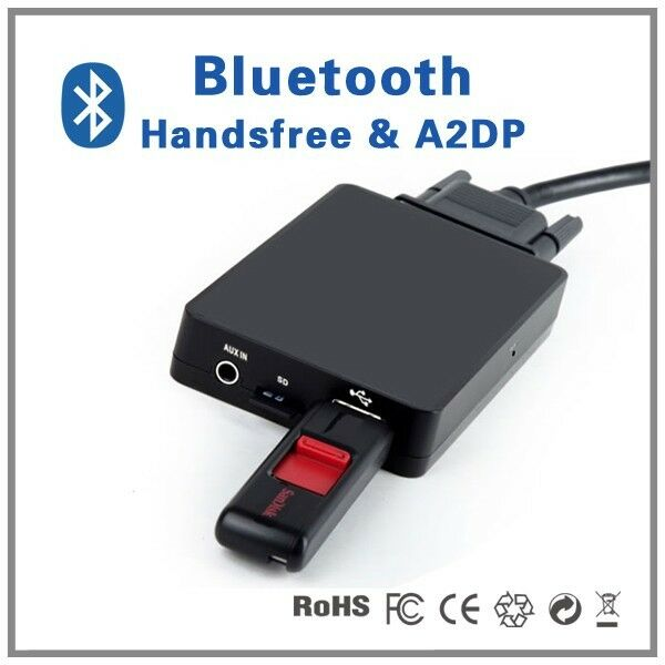 Bluetooth Handsfree A2DP CD Changer Adapter For Acura CSX