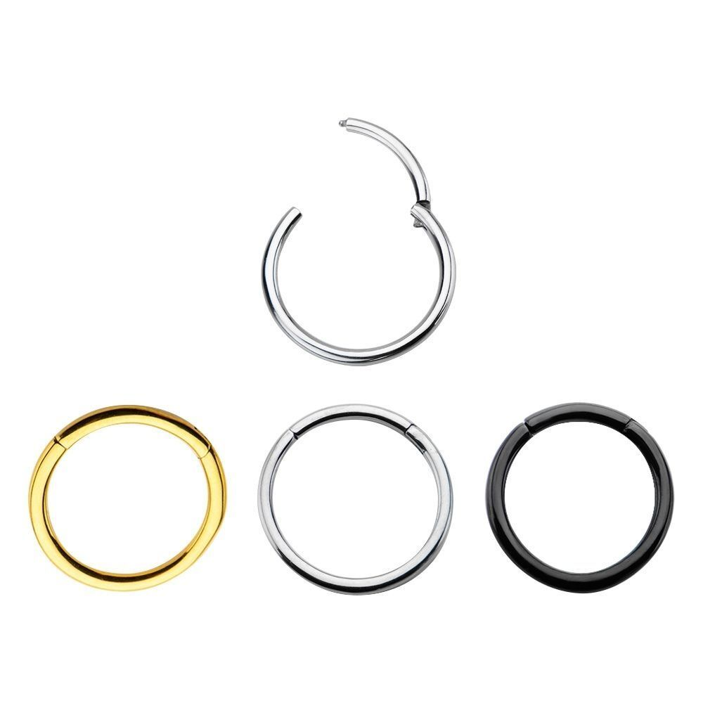 Hinged Segment Ring 16g Amp 14g Cartilage Nose Lips And