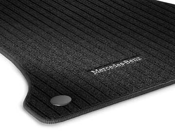 Genuine mercedes benz w205 c class saloon estate ribbed for Mercedes benz floor mats c300
