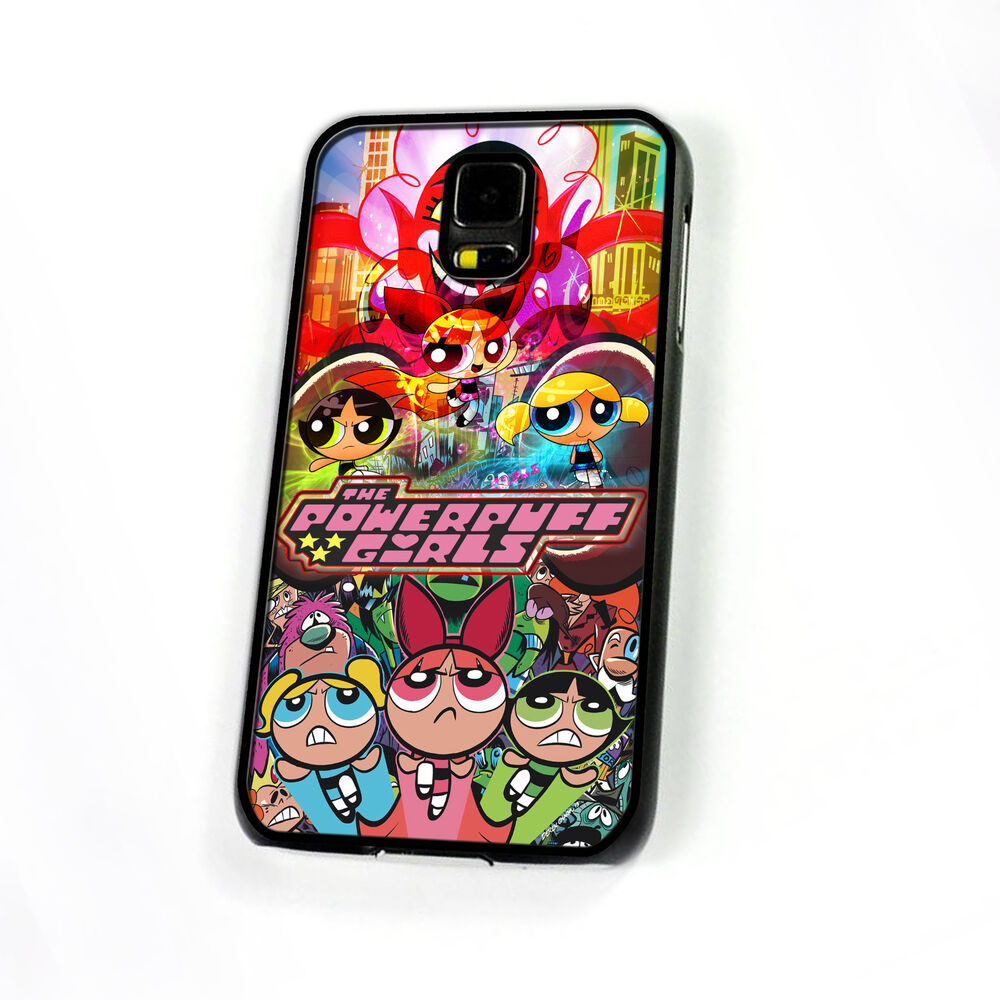 the powerpuff girls cover case for samsung galaxy s3 s4 s5