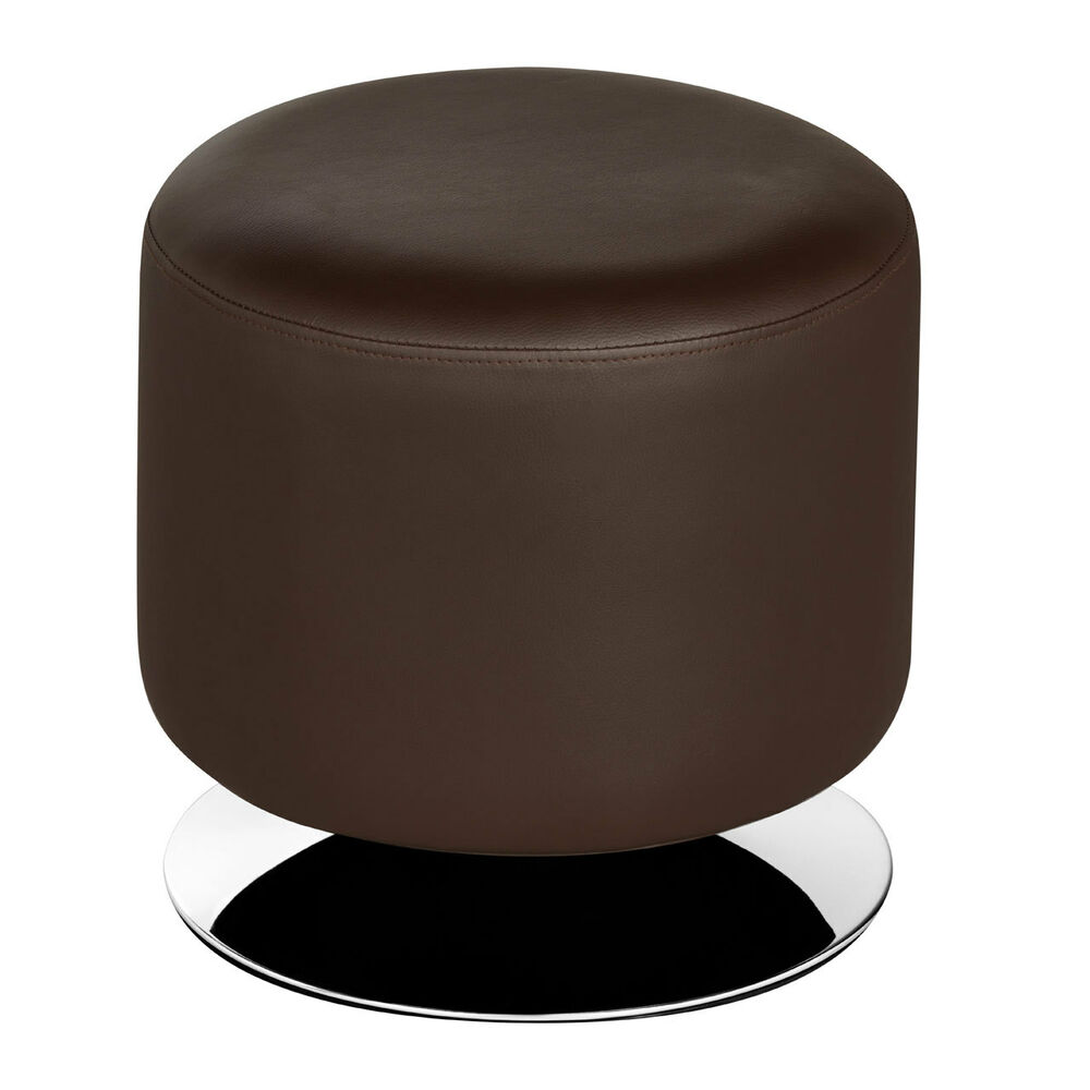 Premier Stylish Cylinder Stool Brown Leather Effect  : s l1000 from www.ebay.co.uk size 1000 x 1000 jpeg 44kB