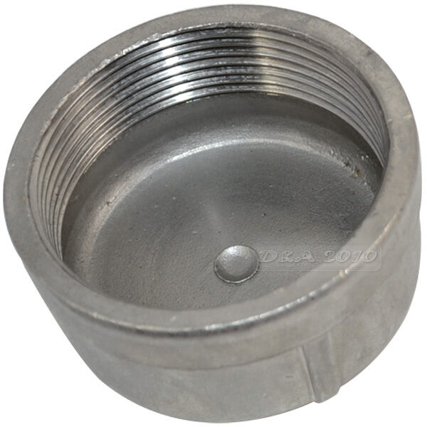 Quot cap female stainless steel ss threaded pipe fitting