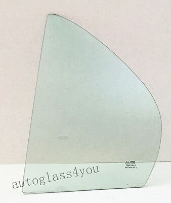 Driver/Left Side Rear Vent Glass Window For 1991-1994 Toyota Tercel 4-DR Sedan