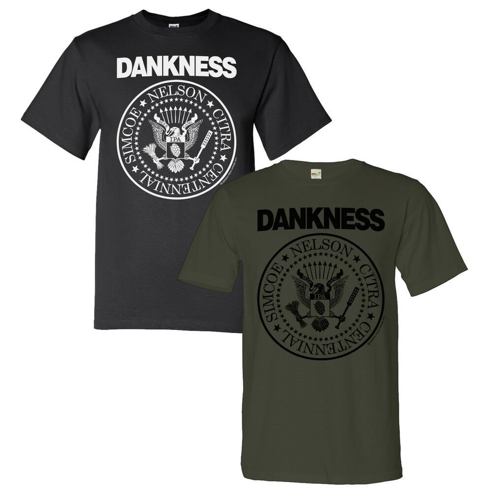 Dankness tee shirt barrel homebrew craft beer brewery for Craft brewery t shirts