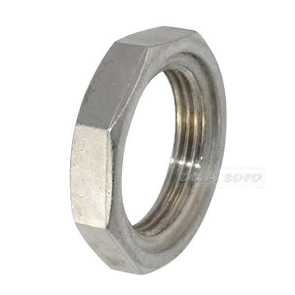 Lock nut stainless steel o ring groove pipe