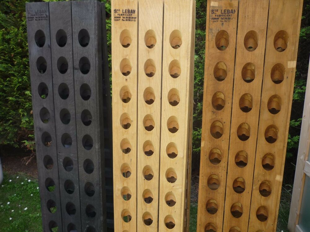 Exclusive Champagne Riddling Rack For 30 Wine Bottles With