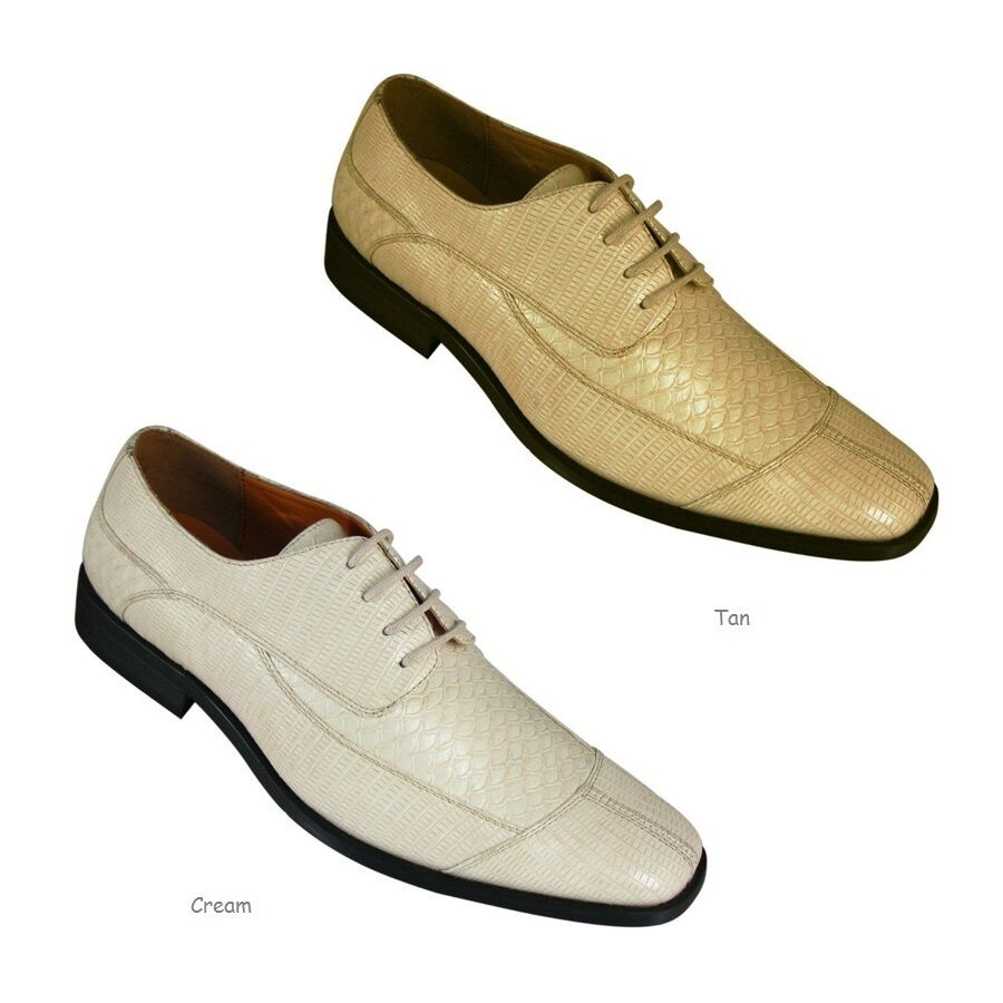 Oxfords Faux Leather Embossed Mens Dress Shoes 5746