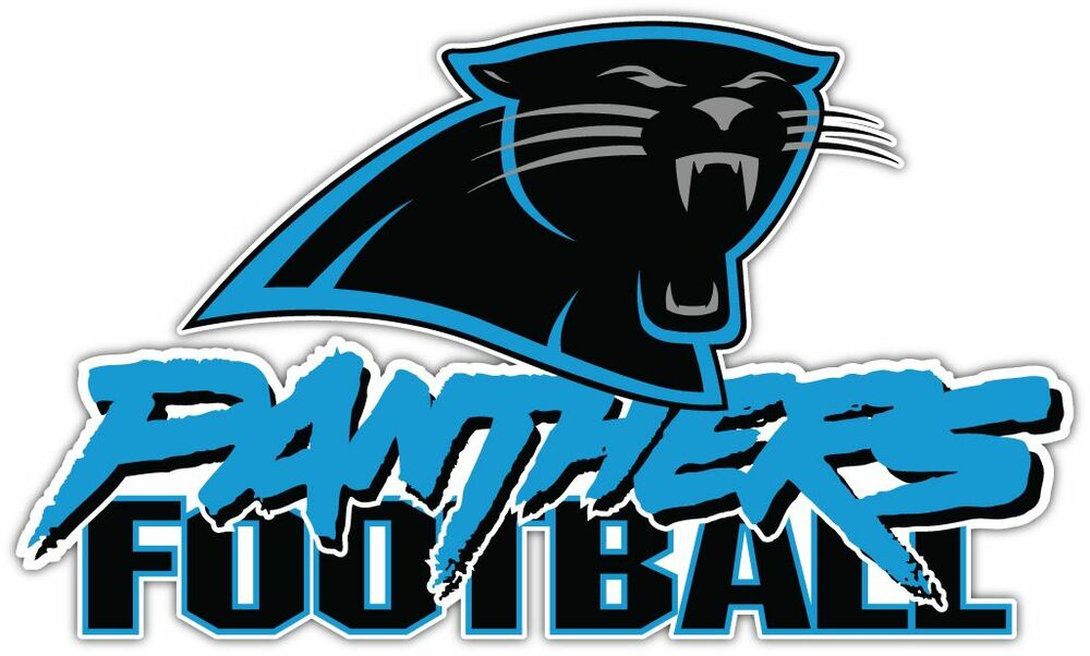 Carolina Panthers Nfl Football Bumper Locker Notebook