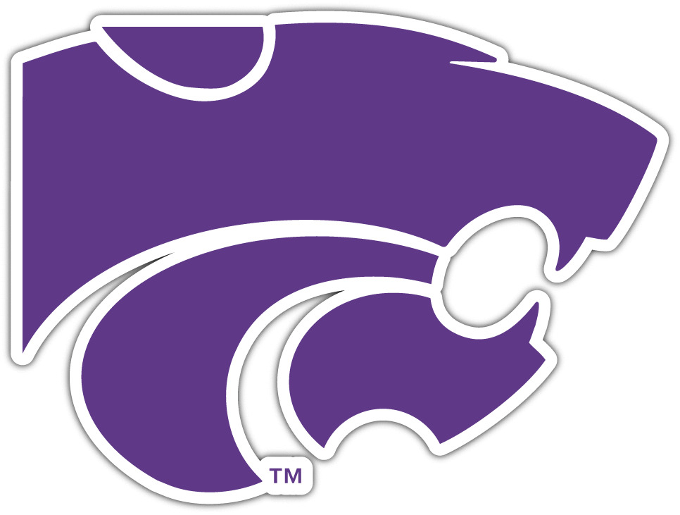 Kansas State Wildcats Ncaa Vinyl Car Bumper Window Sticker