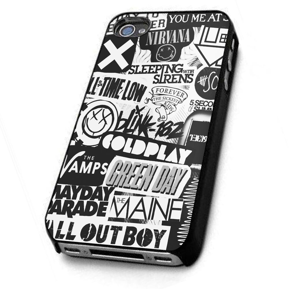Band Collage Iphone Case