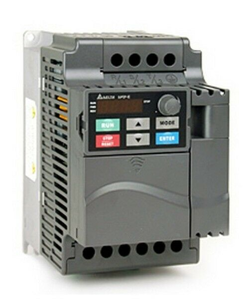 Delta inverter vfd vfd075e43a 10hp 3phase 380v 7 5kw for Vfd for 5hp motor