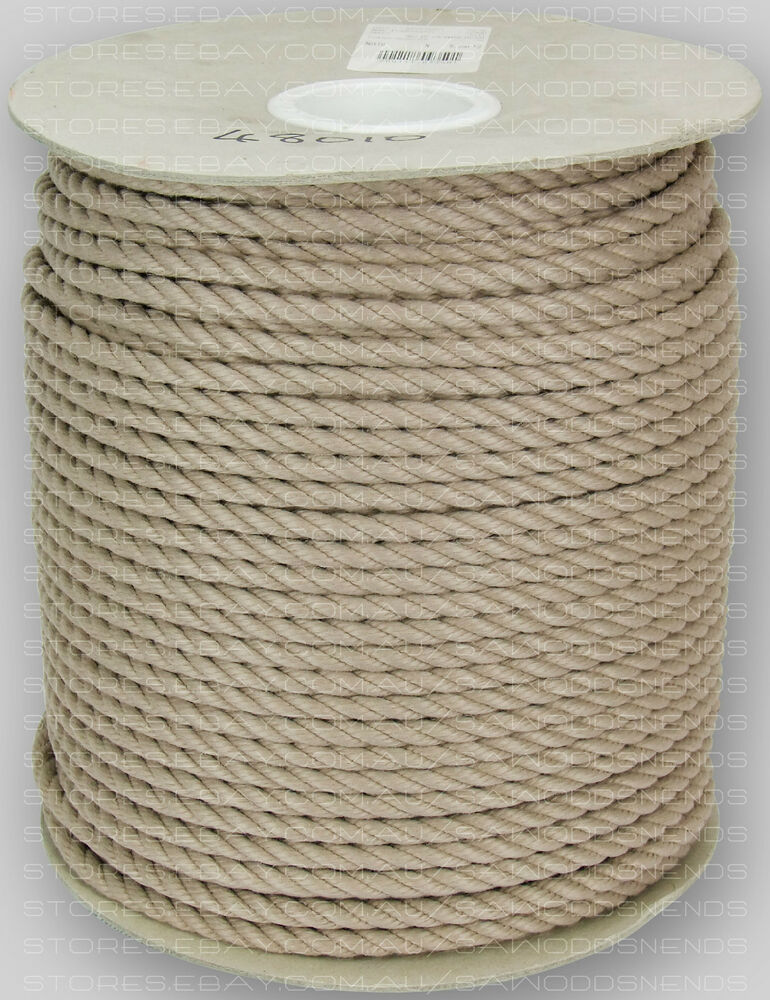 Home Improvement Home & Garden Confident 100mtrs X 12mm Pe Silver Rope