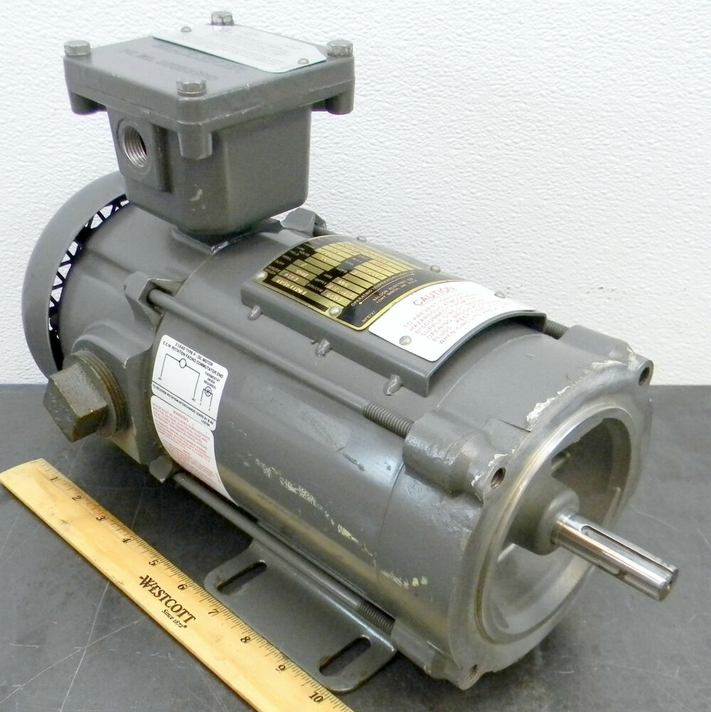 Baldor cdpx3420 dc 1 3 hp 1750 rpm electric motor 90 volt for Dc motor 1 3 hp