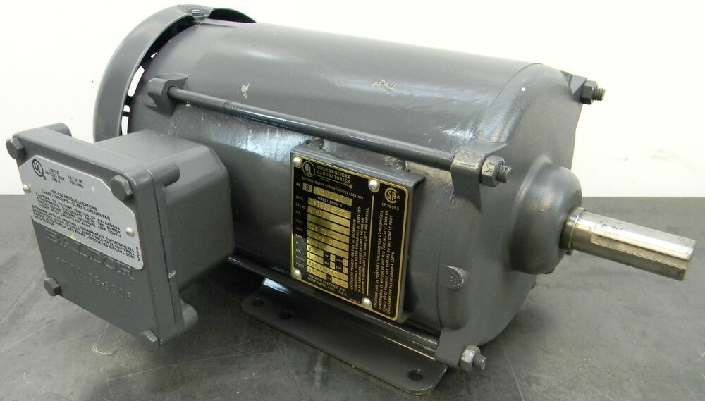 baldor hazardous location motor 1 hp 1140 rpm explosion