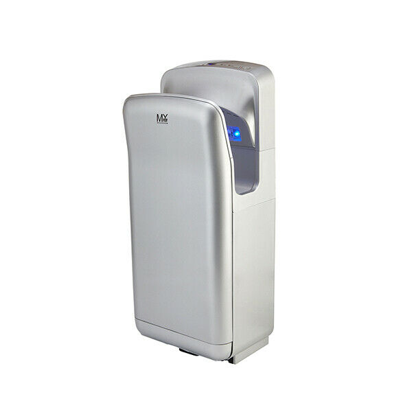 Wall mounted automatic jet hand dryer 1650 w commercial for Bathroom hand dryers electric