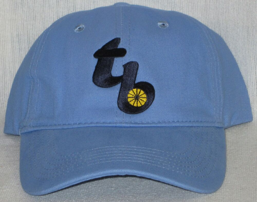 ta bay rays cap hat mlb patch logo new cool sky blue