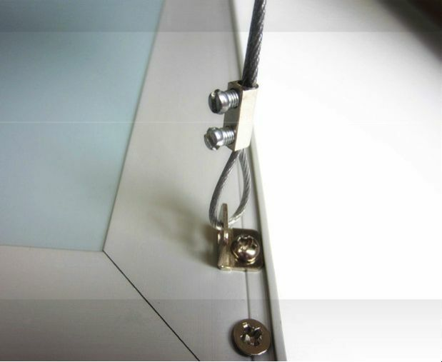 Led Ceiling Panel 600x600 Or 1200x600 Suspension Wire Hanging Kit Ebay