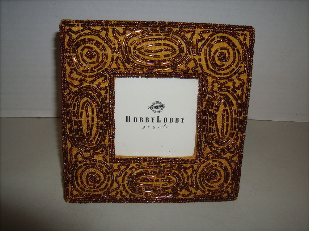 hobby lobby gold sequin picture frame ebay. Black Bedroom Furniture Sets. Home Design Ideas