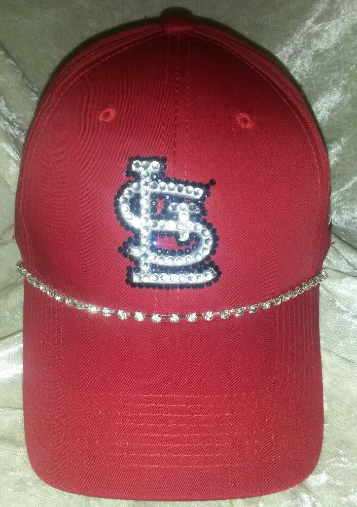 st louis cardinals womens rhinestone bling mlb baseball