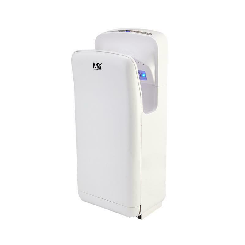 Wall Mounted Automatic Abs Jet Hand Dryer Commercial Grade