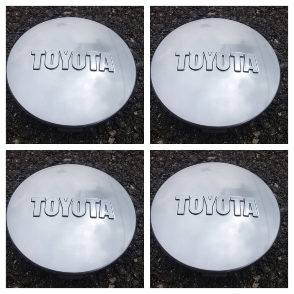 Toys For Caps : New toyota tundra tacoma polished wheel center caps set of