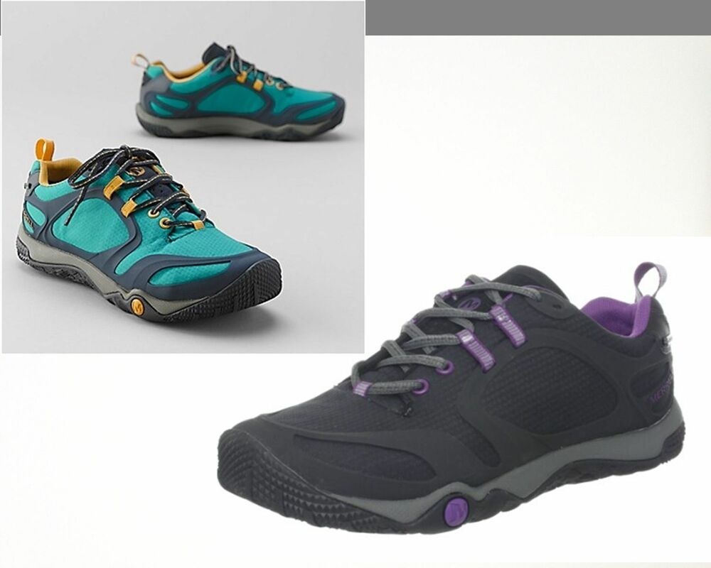 6c6521a433f9 Details about NWT Womens Merrell Proterra Sport GTX Shoes Black Teal Retail   140