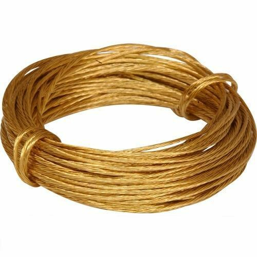 Super Extra Strong Brass Picture Wire Cable Cord Hanging
