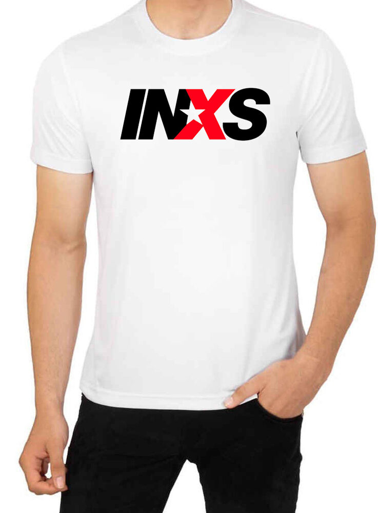 Inxs men 39 s high quality top t shirt cotton crew neck ebay for High crew neck t shirts